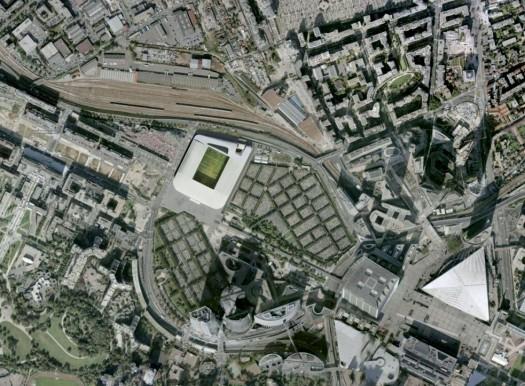 France - Nanterre Préfecture 2011 - Under construction Competition