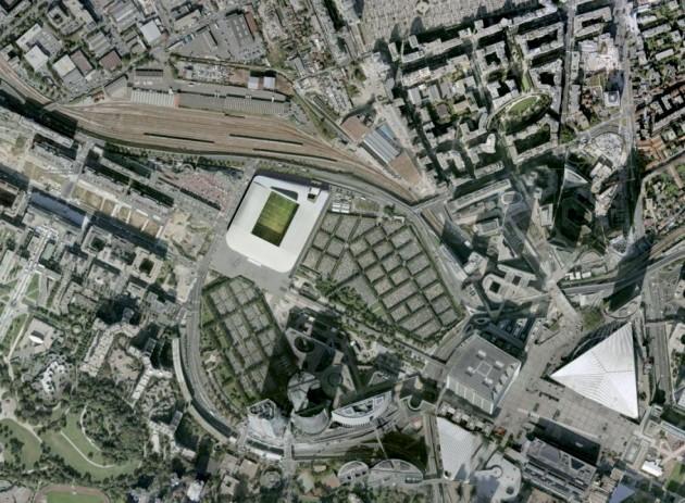 U Arena Stadium - Christian de Portzamparc
