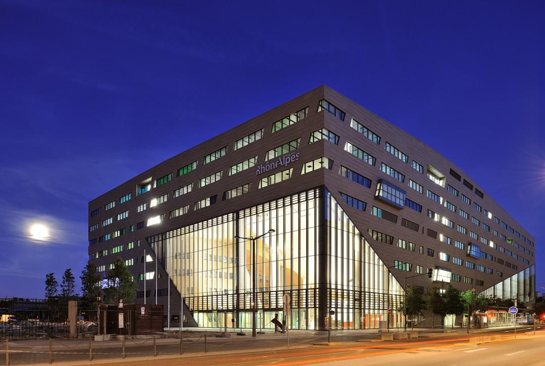 Hotel De Region Lyon Architecte