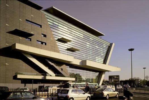 Centre Commercial Palais Des Congrès extension du palais des congrès - christian de portzamparc