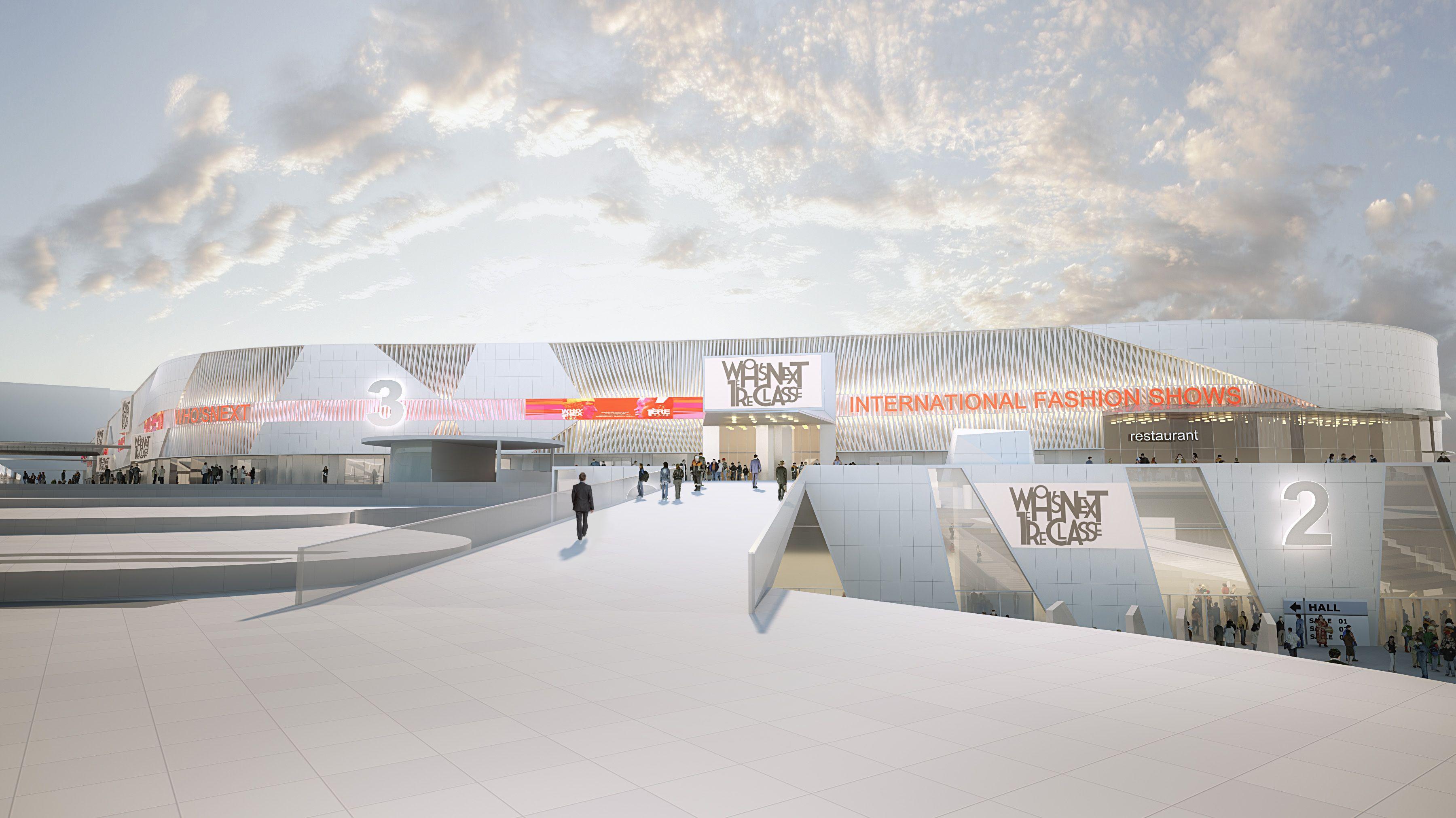 Pr sentation du projet paris expo porte de versailles - Parking c parc des expositions porte de versailles ...
