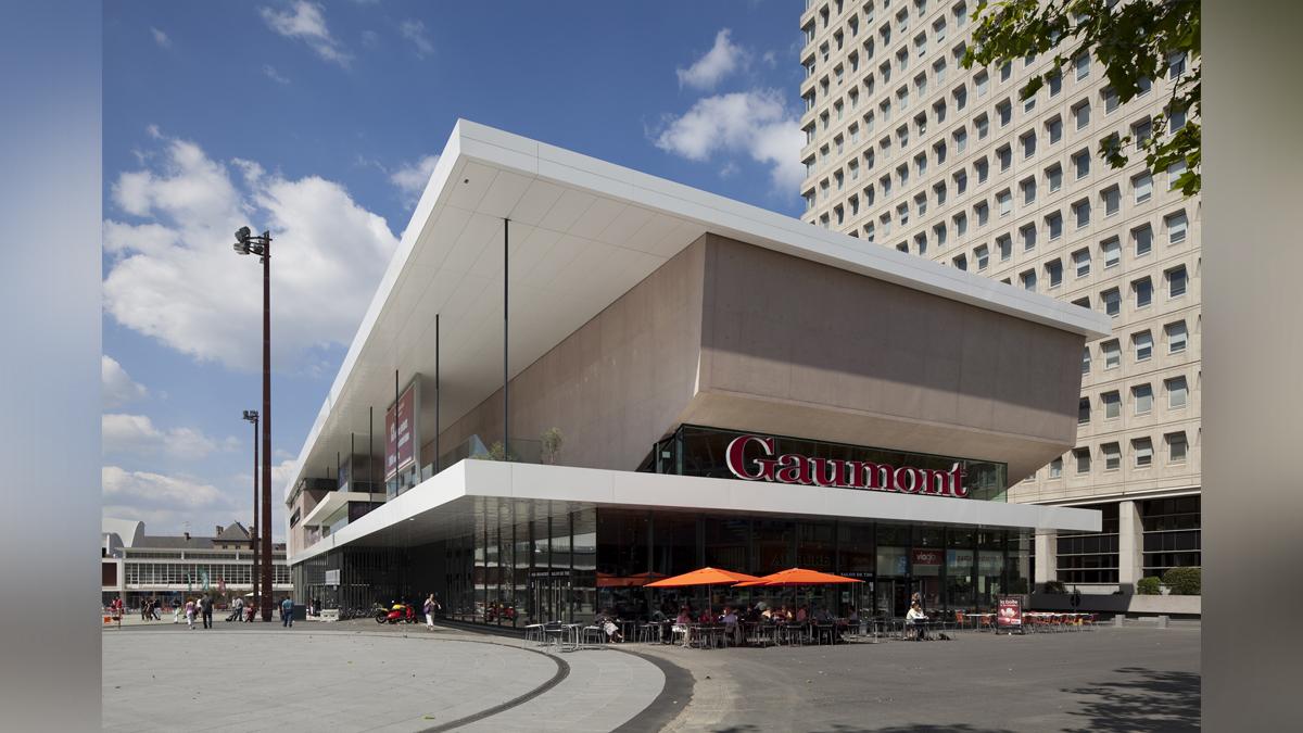 Cin ma gaumont rennes christian de portzamparc for Architecture rennes