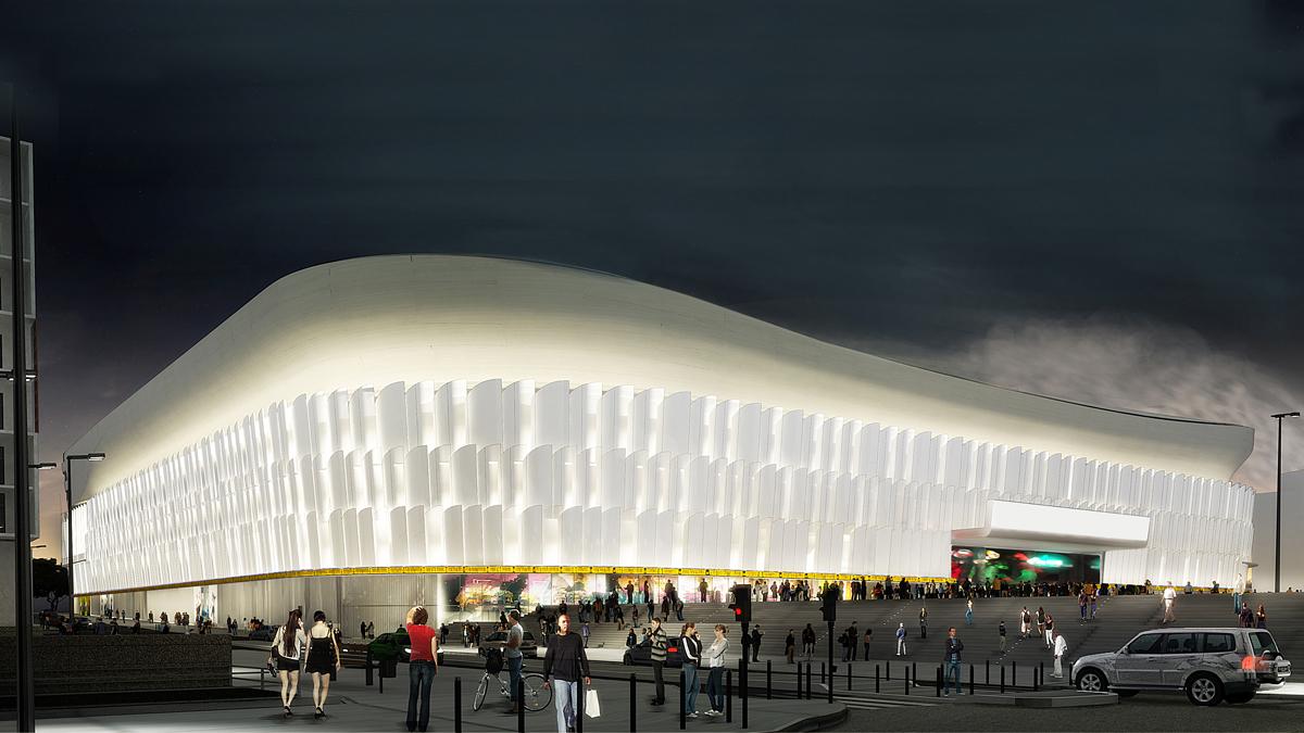 Stade Arena Nanterre - La Défense - Christian de Portzamparc