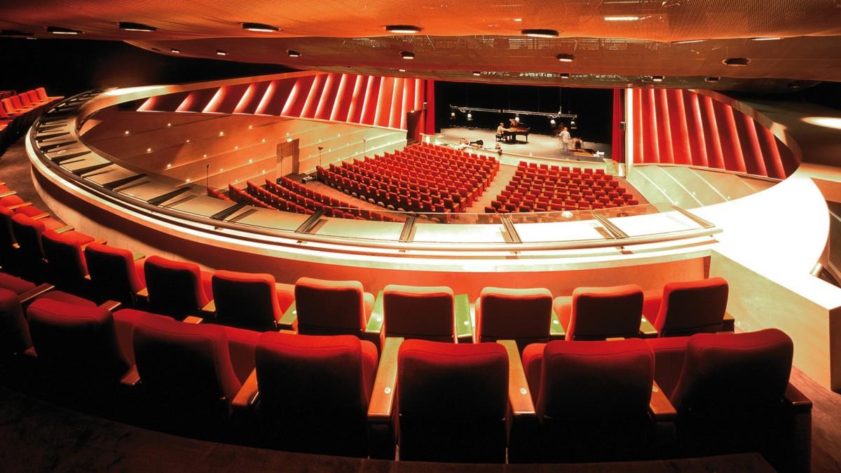 Extension Du Palais Des Congres Christian De Portzamparc