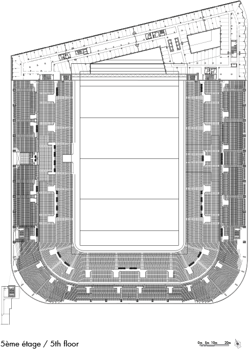Paris La Defense Arena Christian De Portzamparc
